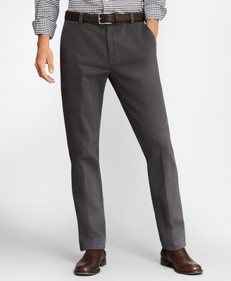 Brooks Brothers Milano Fit Brushed Twill Stretch Chinos