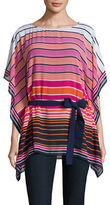 Michael Kors Striped Caftan Tunic