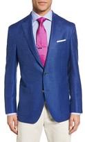David Donahue Men's Aiden Classic Fit Wool Blazer