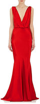Alberta Ferretti Women's Textured Silk Satin Gown
