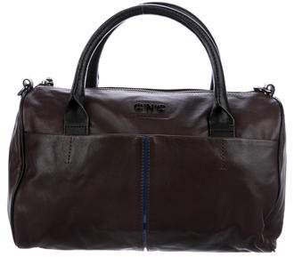 CNC Costume National Smooth Leather Satchel