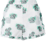 Roseanna floral print short - women - Cotton/Polyamide - 36