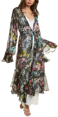 Rococo Sand Moonlight Printed Long Robe