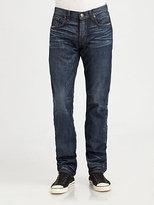 J Brand Kane Selvage Straight-Leg Jeans