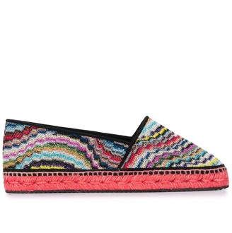 Missoni Striped Knitted Espadrilles
