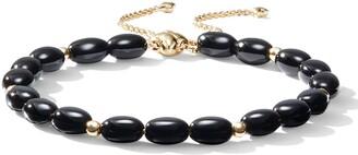David Yurman Spiritual Bead Bracelet with 18k Gold