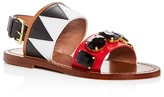 Marni Two Strap Embellished Sandals
