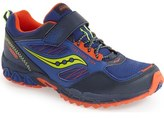 Saucony 'Excursion Shield' Water Resistant Trail Shoe (Toddler, Little Kid & Big Kid)