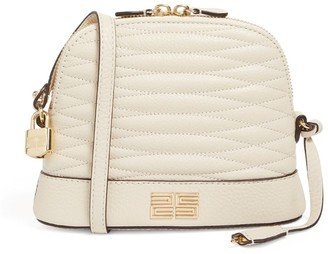 Sandro Paris Quilted Leather Cross-Body Bag