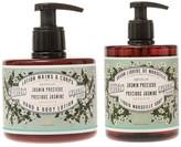 Panier des Sens Absolutes Precious Jasmine Liquid Marseille Soap & Hand and Body Lotion - Set of 2