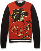 McQ by Alexander McQueen Wool-Jacquard Sweater
