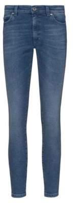 HUGO LOU skinny-fit high-waist jeans in stretch denim