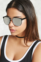 Forever 21 Metal Aviator Sunglasses