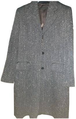 Brooksfield Black Tweed Coat for Women