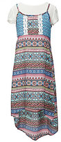 My Michelle Big Girls 7-16 Printed 2-Fer Slip Dress