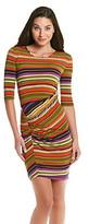 Betsey Johnson Striped Knit Dress