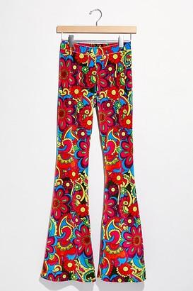 Free People Juniper Velvet Flare Pants