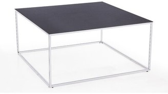 Blink Home Midtown Coffee Table Table Top Color: Charcoal