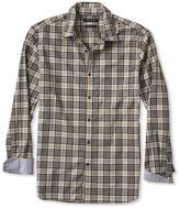 Banana Republic Grant-fit Custom Wash Multi Check Shirt