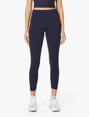 Lorna Jane Effortless 7/8 high-rise stretch-jersey leggings