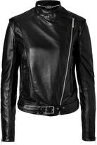 Just Cavalli Black Leather Jacket