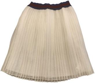 Gucci Beige Silk Skirts