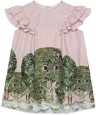 Gucci Children's Yuko Higuchi print cotton dress