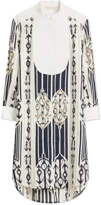 Anchor-Print Dress
