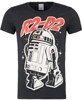 Logoshirt Star Wars R2d2 Print Tshirt Schwarz
