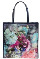 Ted Baker 'Large Icon - Tapcon Bouquet' Tote - Blue