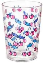 Plastic Short Tumbler 16oz Red Cherries Graphic