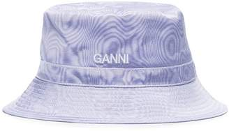 Ganni Moire Bucket Hat