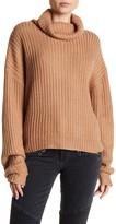 Lovers + Friends Turtleneck Cable Knit Sweater