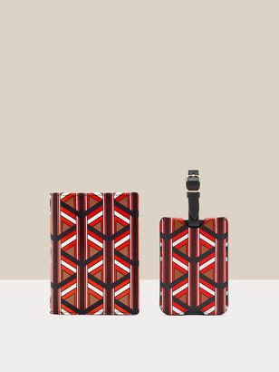 Diane von Furstenberg Paige Leather Passport Holder & Luggage Tag