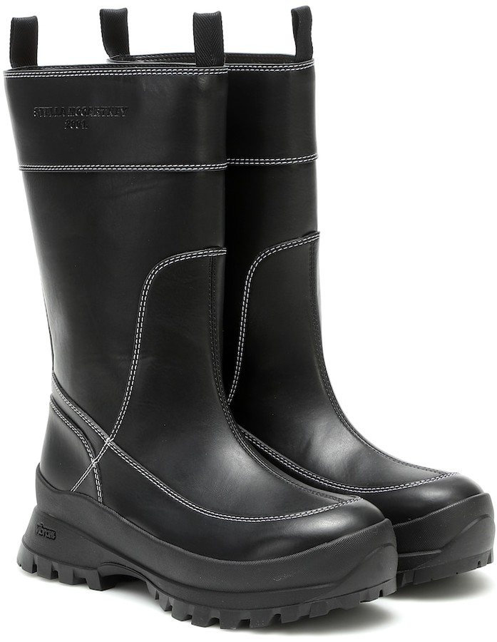 Stella McCartney Trace Utility faux leather boots