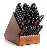 Wusthof Gourmet 36-Piece Grande Knife Set with Cherry Wood Block