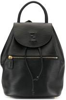Fendi Pre Owned logo drawstring backpack