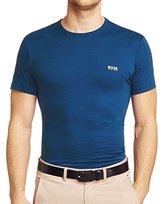 HUGO BOSS Mens Short Sleeve Tee Crewneck T-shirt - Blue (XXL)