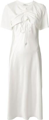 GOEN.J Cutout Detail Flared Dress