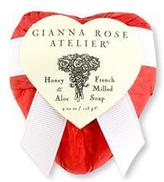 Gianna Rose Heart Soap in Scarlet Tissue