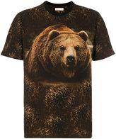 Etro bear print T-shirt - men - Cotton - L