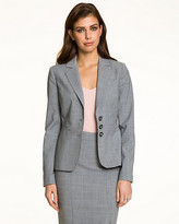 Le Château Wool Blend Notch Collar Blazer