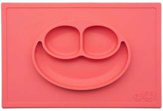 Ezpz Happy Mat All-in-one Placemat and Plate - Coral