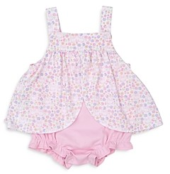 Kissy Kissy Girls' Bubble Dress & Bloomers Set - Baby