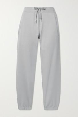 HANDVAERK Stretch-pima Cotton Track Pants - Gray