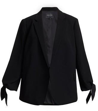 Lafayette 148 New York, Plus Size Bria Crepe Jacket