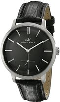 Adee Kaye Men's AK2225-M/BK Classique Analog Display Japanese Quartz Black Watch