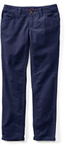 Lands' End Girls Plus Pencil Leg Corduroy Jeans-Midnight Navy