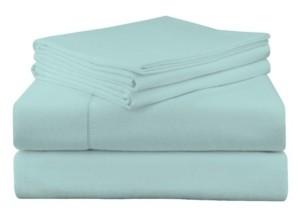 Pointehaven Luxury Weight Flannel Sheet Set Bedding