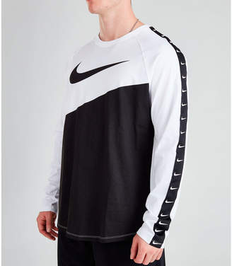 Nike Men's Sportswear Swoosh Long-Sleeve T-Shirt